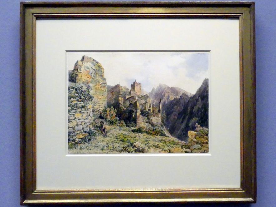 Thomas Ender: Die Ruine Rabenstein bei Virgen in Osttirol, um 1840