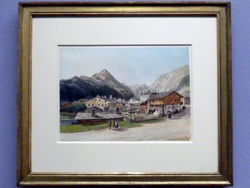 Thomas Ender: Blick auf Windisch-Matrei in Osttirol, um 1840
