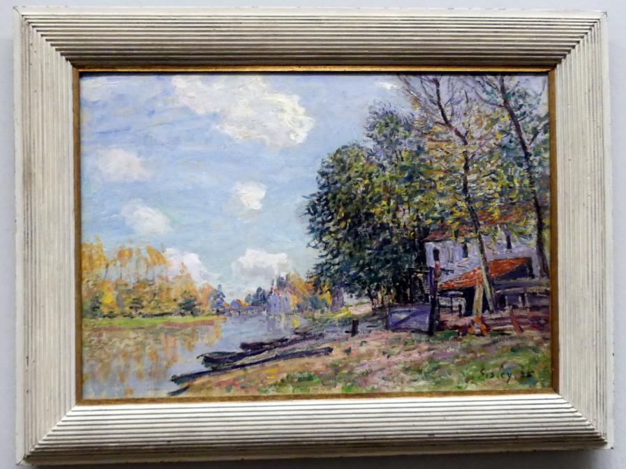 Alfred Sisley: Moret: die Ufer des Loing, 1885