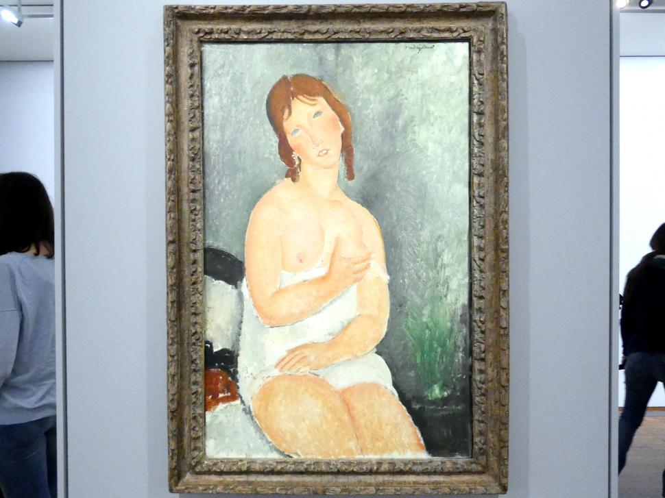Amedeo Modigliani: Prostituierte, 1918