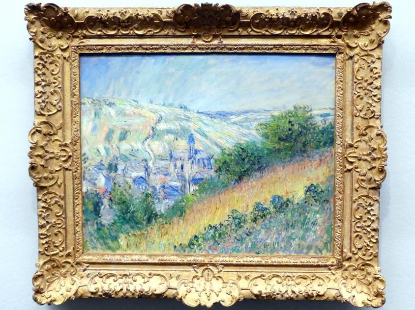 Claude Monet: Blick auf Vétheuil, 1881