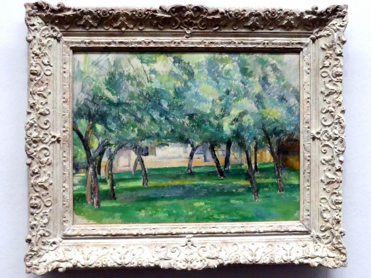 Paul Cézanne: Gehöft in der Normandie, um 1885 - 1886