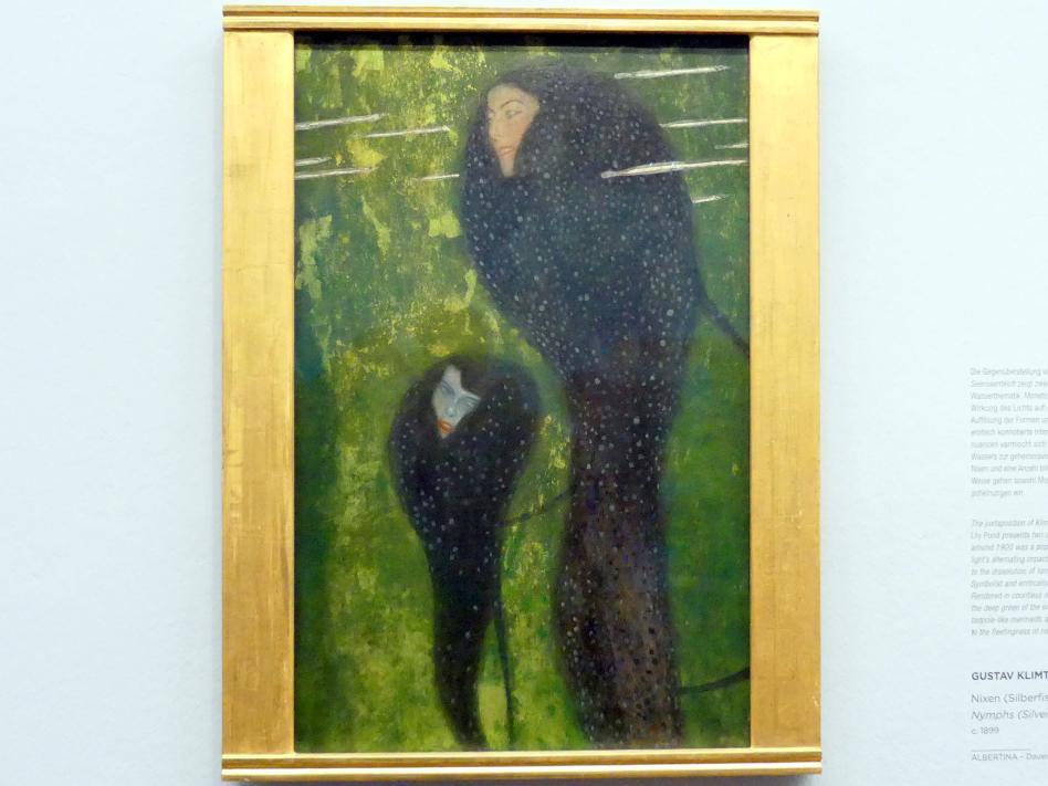 Gustav Klimt: Nixen (Silberfische), Um 1899