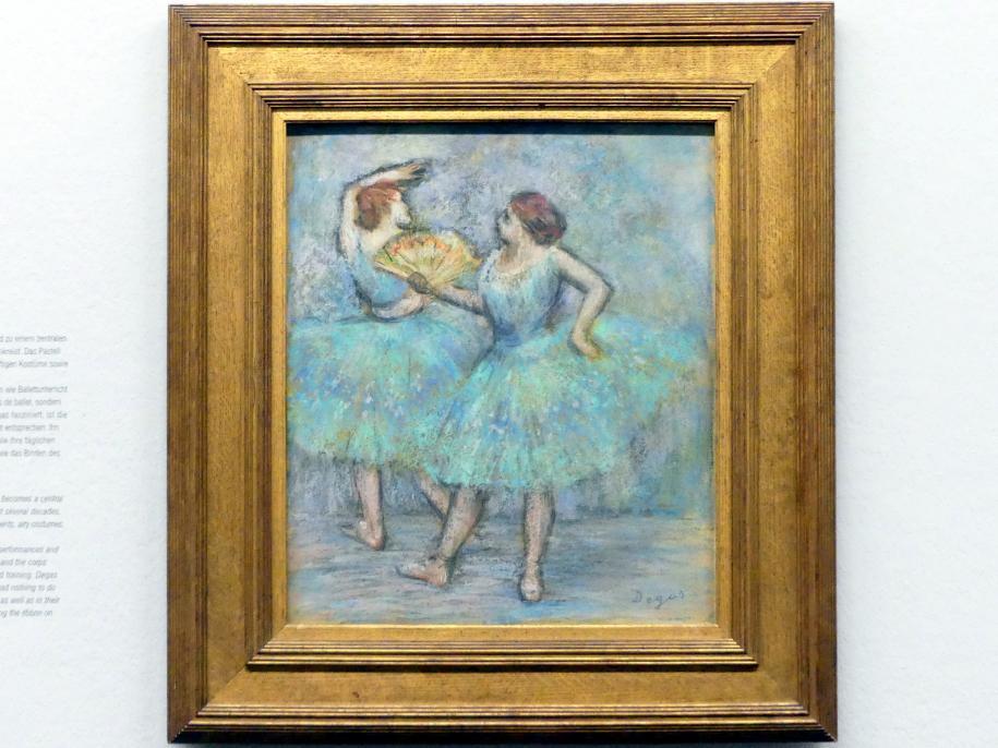 Edgar Degas: Zwei Tänzerinnen, um 1905