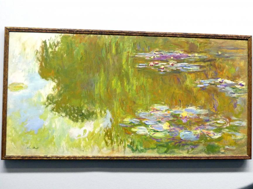 Claude Monet: Der Seerosenteich, Um 1917 - 1919