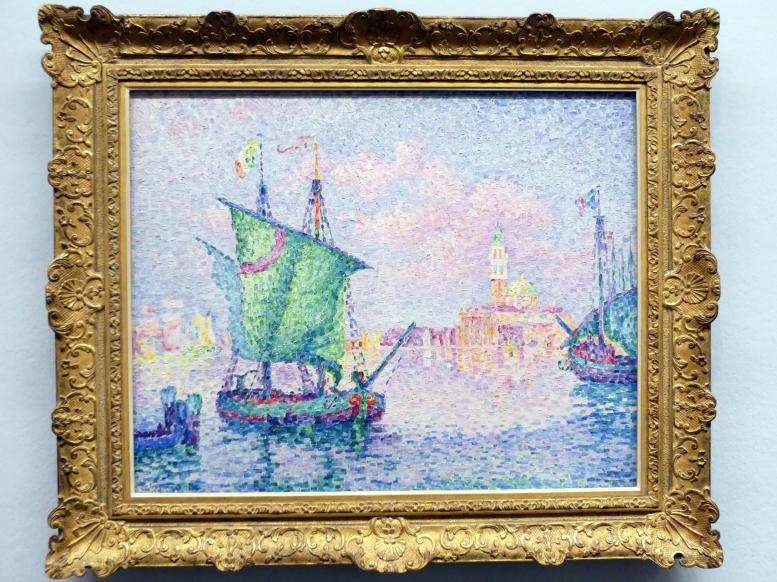 Paul Signac: Venedig, die rosa Wolke, 1909