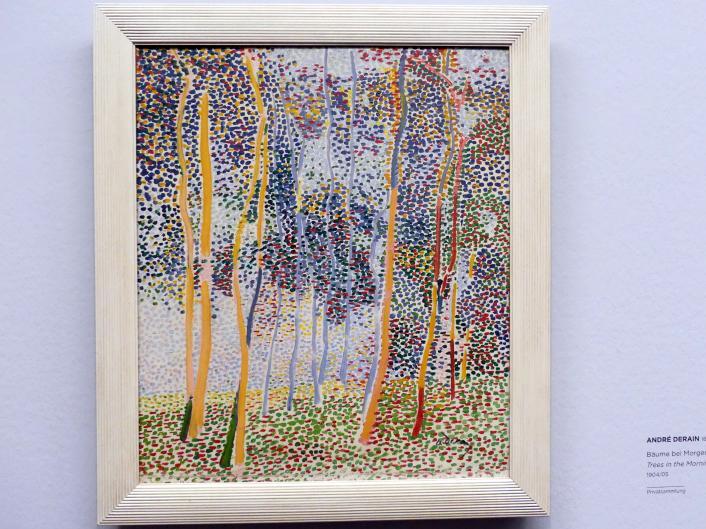 André Derain: Bäume bei Morgenlicht, 1904 - 1905