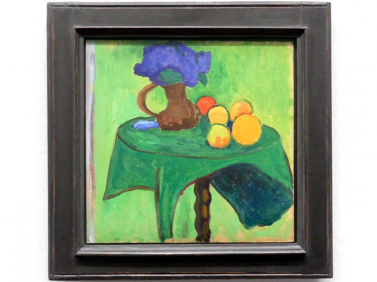 Gabriele Münter: Früchte und Blumen, 1909