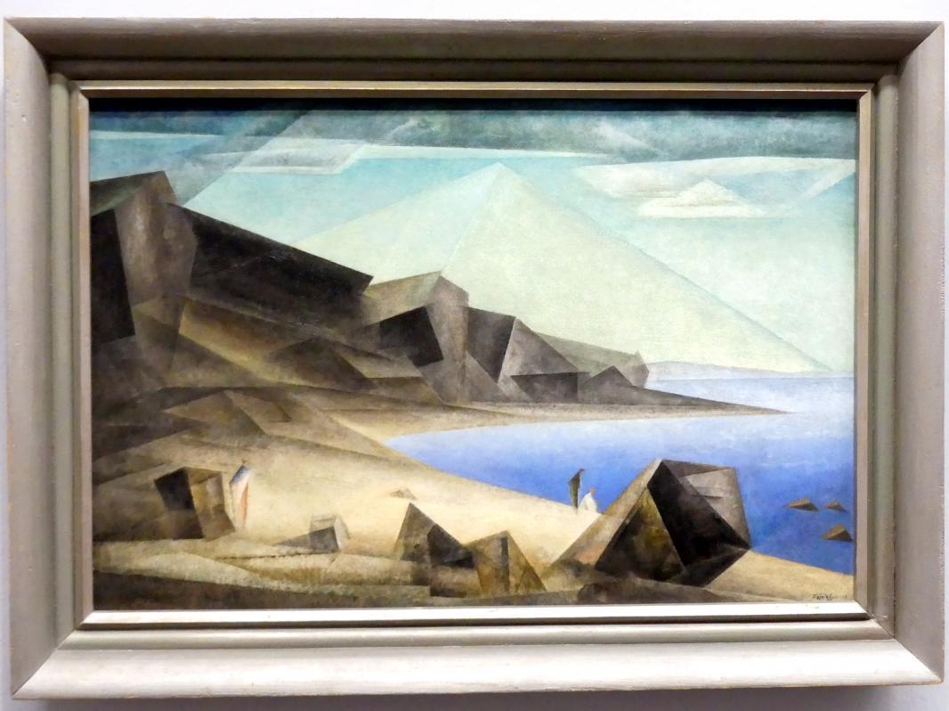 Lyonel Feininger: Das hohe Ufer, 1923