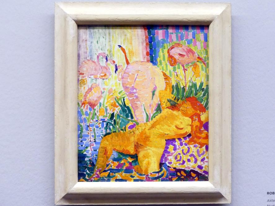 Robert Delaunay: Akte und Flamingos, 1907