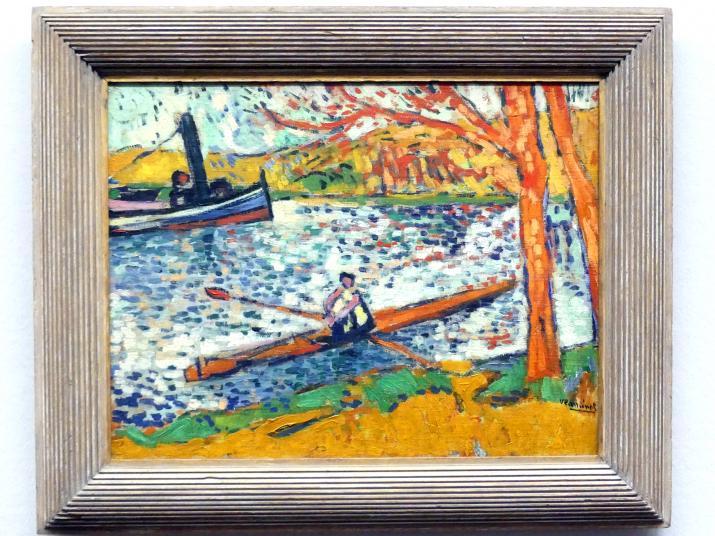 Maurice de Vlaminck: Ruderboot bei Chatou, Um 1906