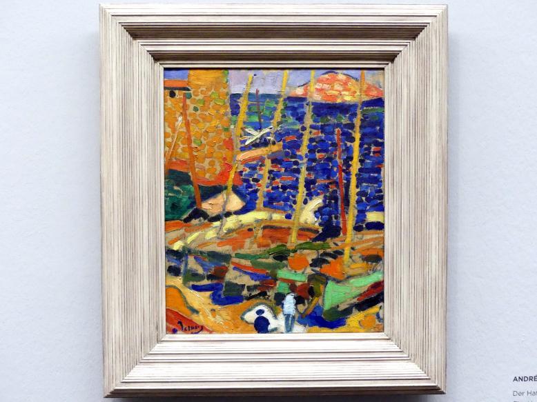 André Derain: Der Hafen von Collioure, 1905
