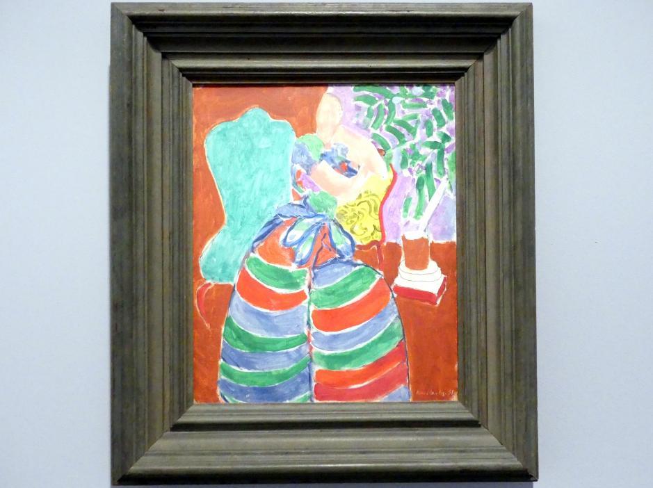 Henri Matisse: Das gestreifte Kleid, 1938