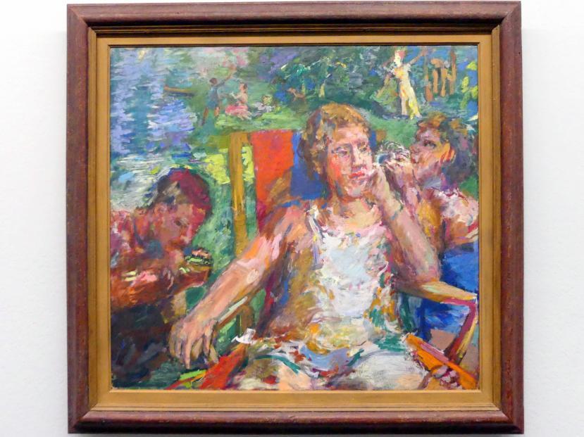 Oskar Kokoschka: Im Garten, 1934