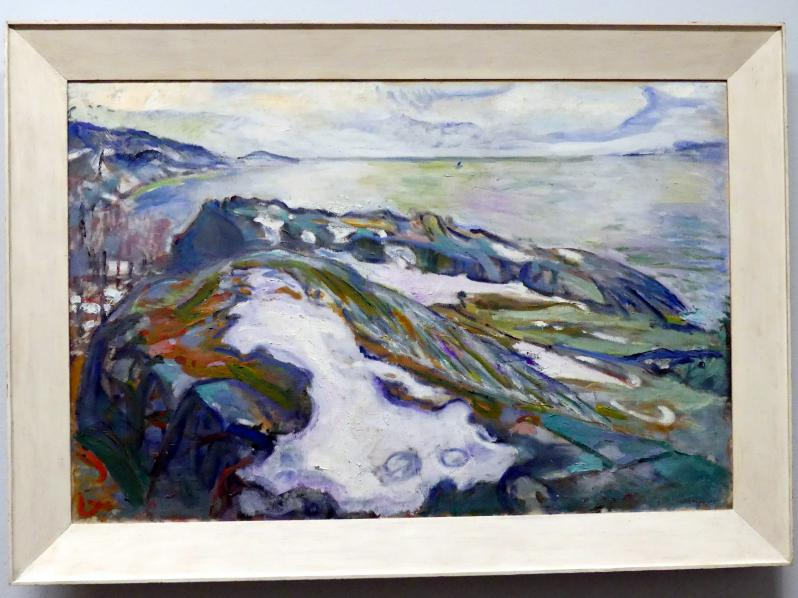 Edvard Munch: Winterlandschaft, 1915