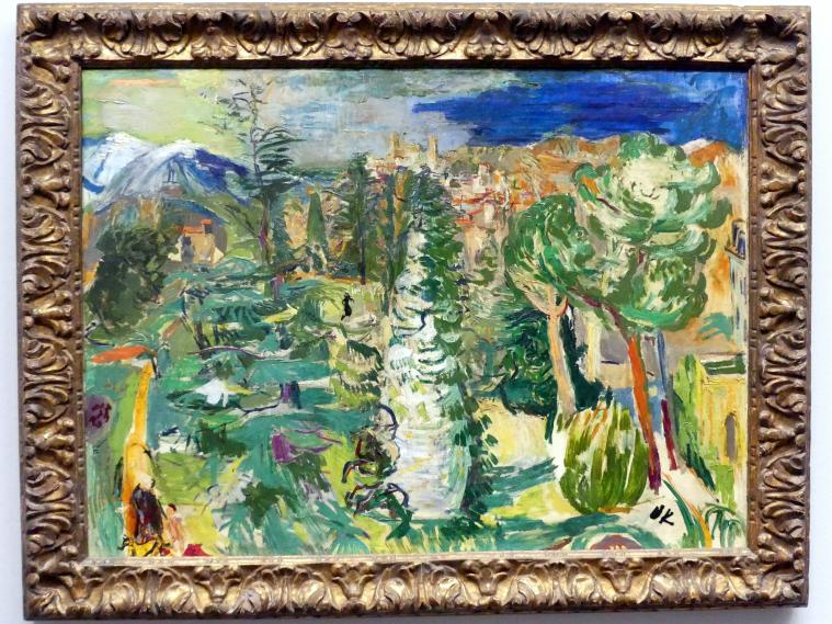 Oskar Kokoschka: Ansicht von Vernet-les-Bains, 1925
