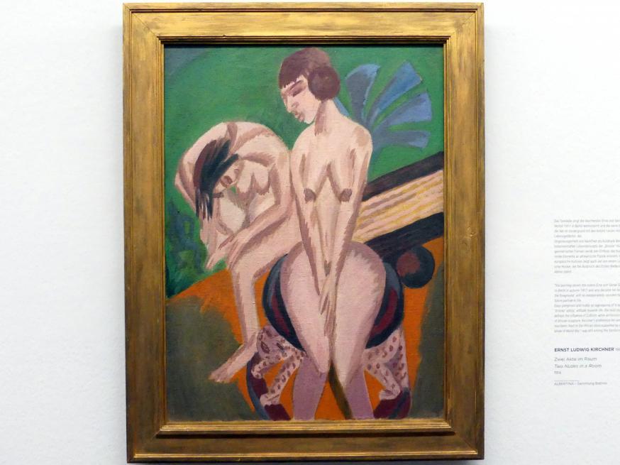 Ernst Ludwig Kirchner: Zwei Akte im Raum, 1914
