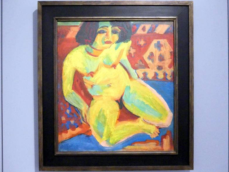 Ernst Ludwig Kirchner: Frauenakt (Dodo), Um 1909