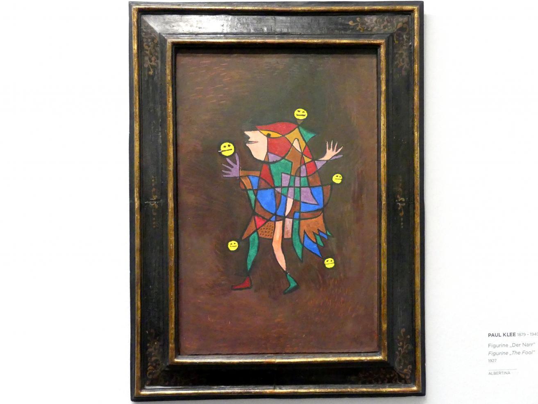"Paul Klee: Figurine ""Der Narr"", 1927"