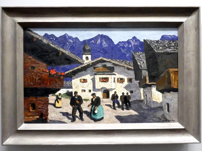 Alfons Walde: Dorfstraße, 1931