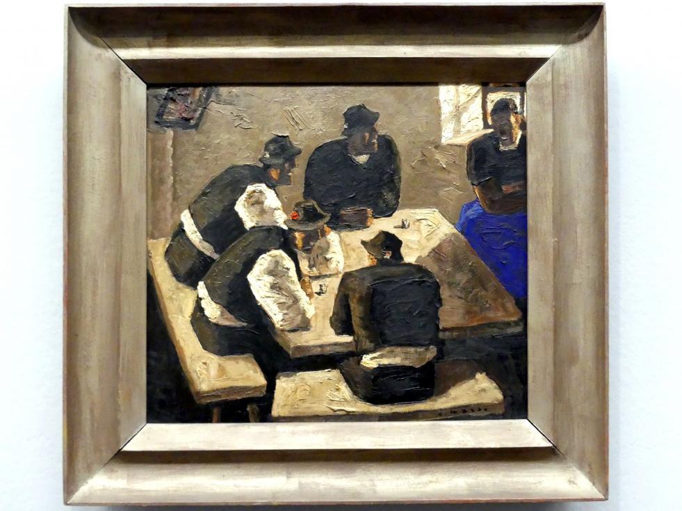 Alfons Walde: Bauern am Tisch, um 1928