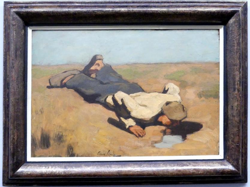 Albin Egger-Lienz: Die Quelle, 1924