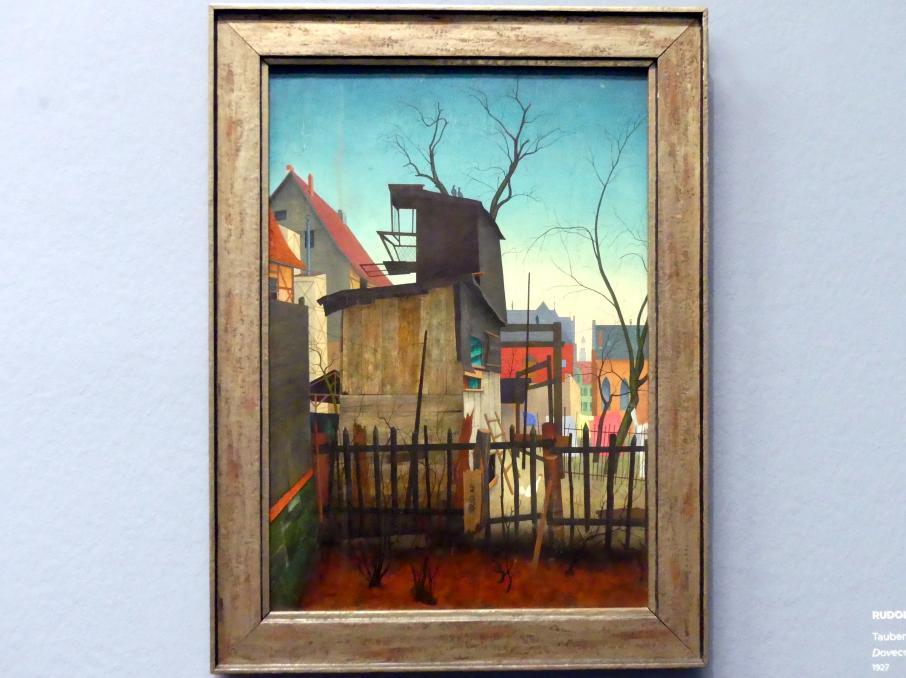 Rudolf Wacker: Taubenschlag, Goslar, 1927