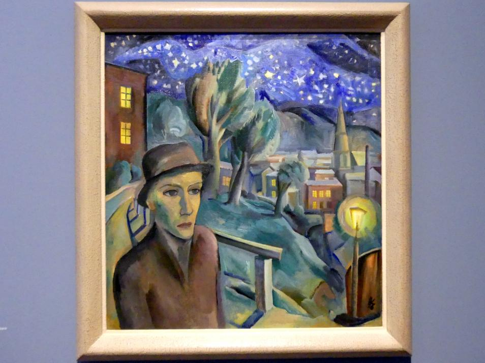 Karl Hauk: Nächtlicher Spaziergang, 1926, Bild 1/2