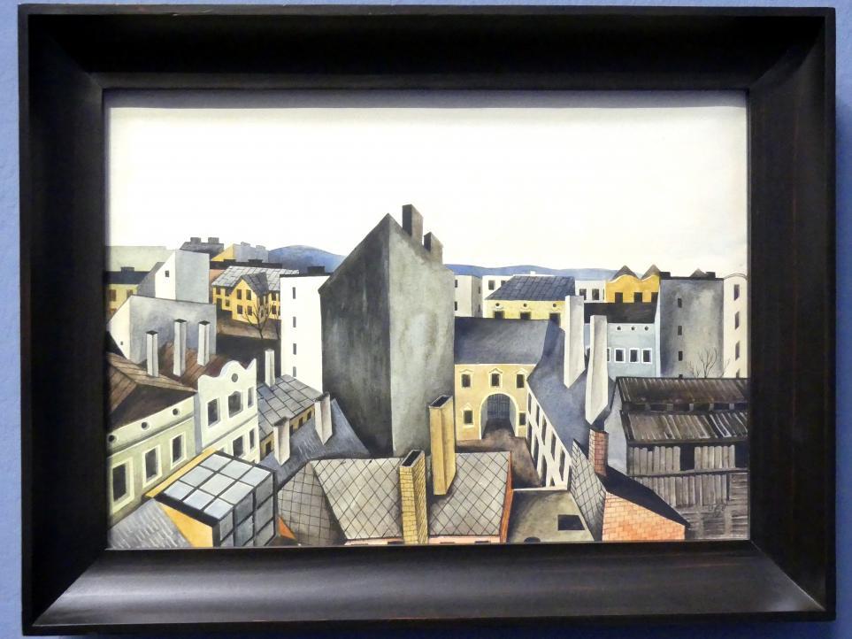 Otto Rudolf Schatz: Häuser, 1930
