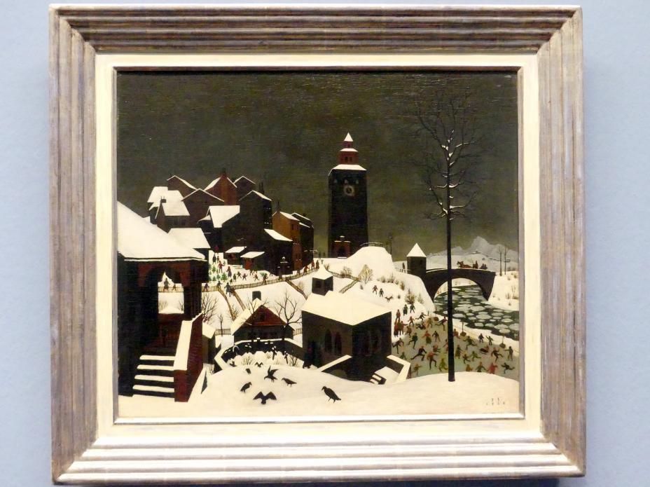 Franz Sedlacek: Winterlandschaft, 1925
