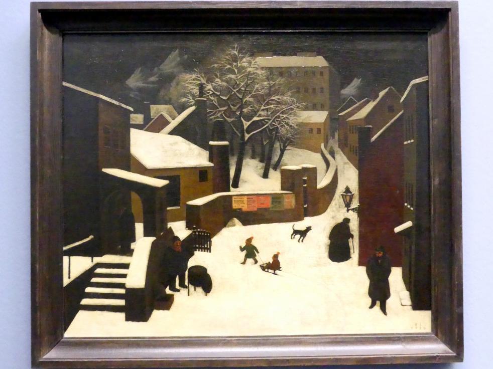 Franz Sedlacek: Winterlandschaft, 1930