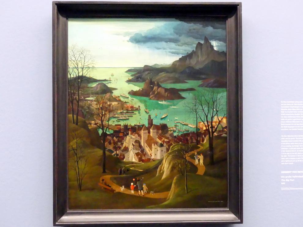 Herbert von Reyl-Hanisch: Die große Hafenstadt, 1928