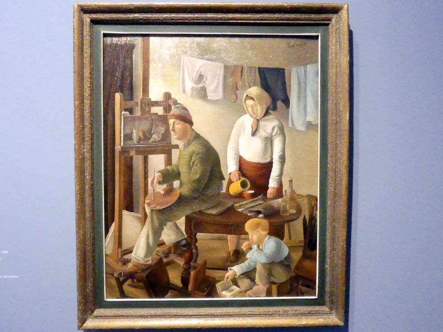 Greta Freist: Familie eines Malers, 1938