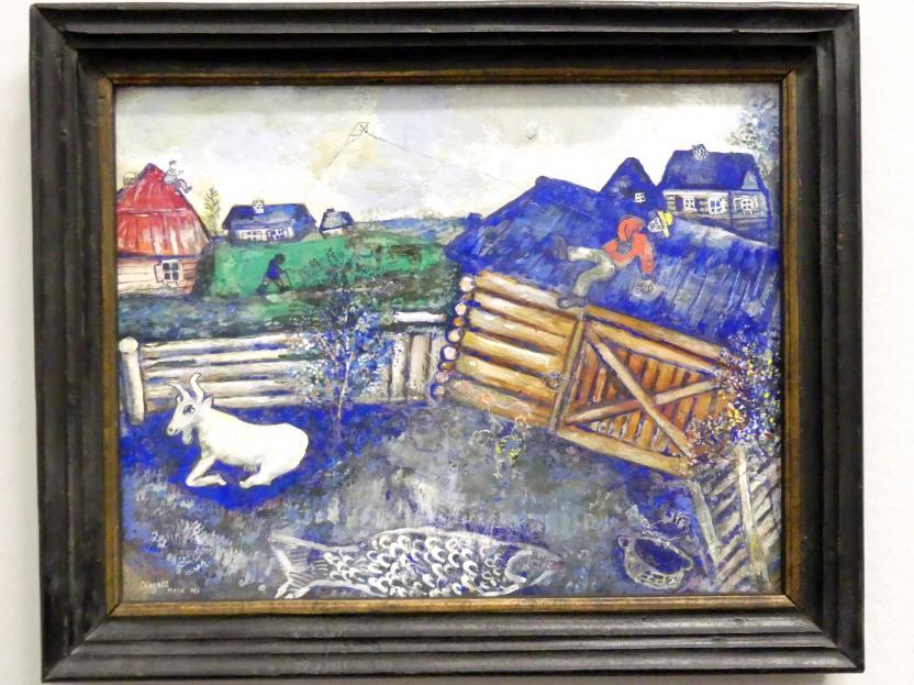 Marc Chagall: Der Papierdrachen, 1926