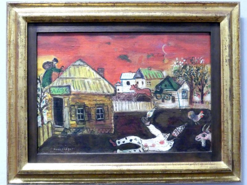 Marc Chagall: Witebsk, Dorfszene, Um 1924 - 1926