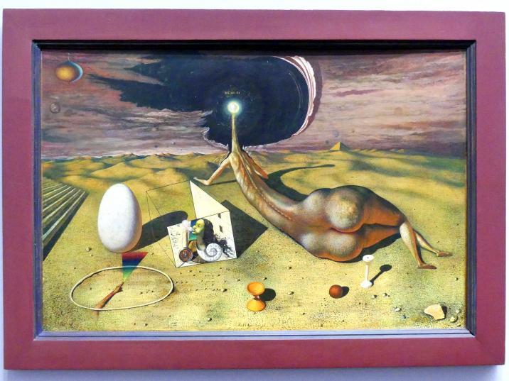 Rudolf Hausner: Ich bin Es, 1948