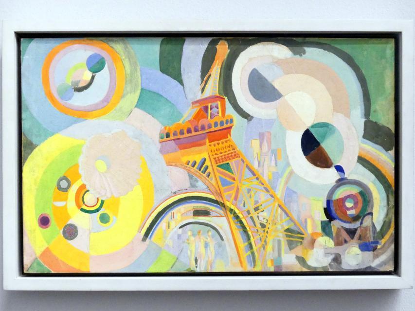 Robert Delaunay: Entwurf für das Wandbild Luft, Eisen, Wasser, 1936 - 1937