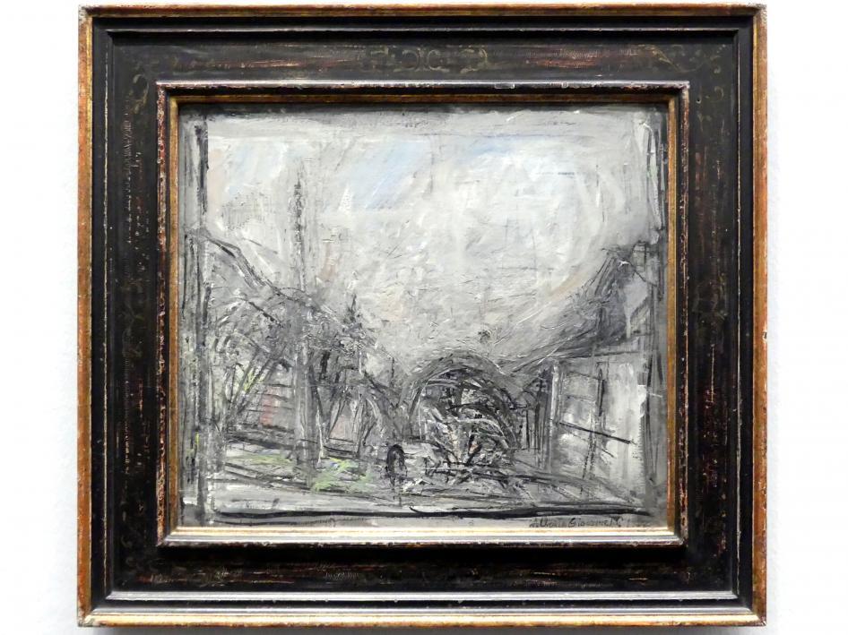Alberto Giacometti: Landschaft, 1952