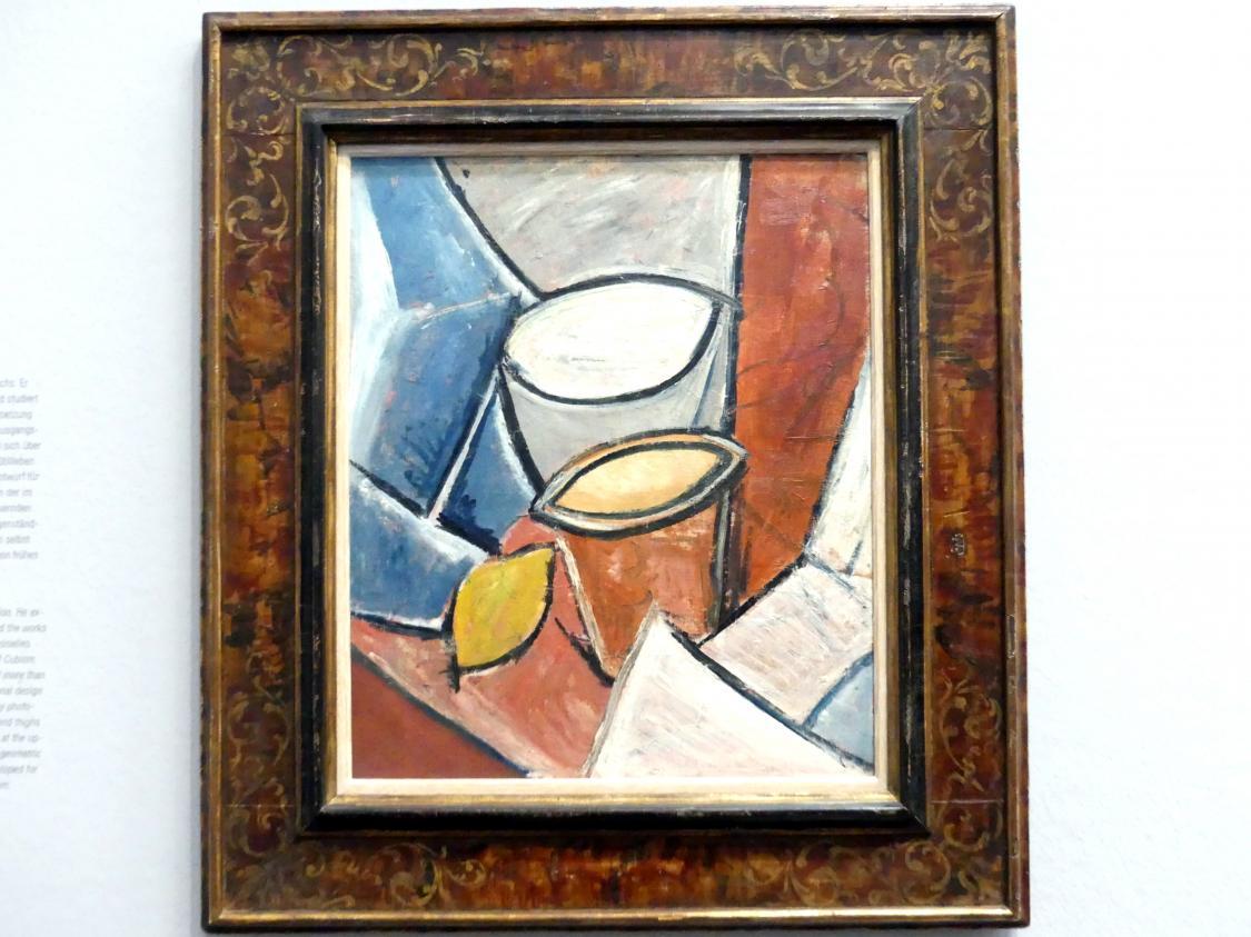 Pablo Picasso: Töpfe und Zitrone, 1907