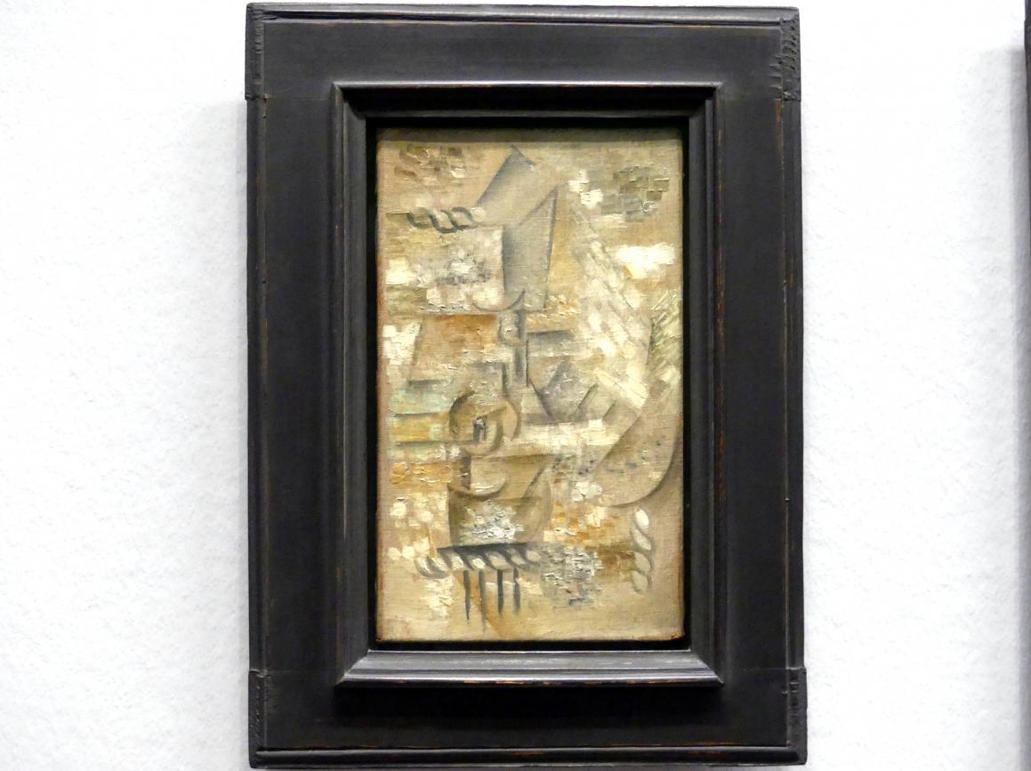 Pablo Picasso: Glas und Apfel, 1911