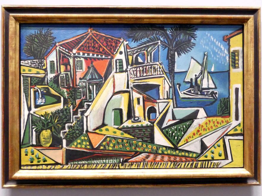 Pablo Picasso: Mittelmeerlandschaft, 1952