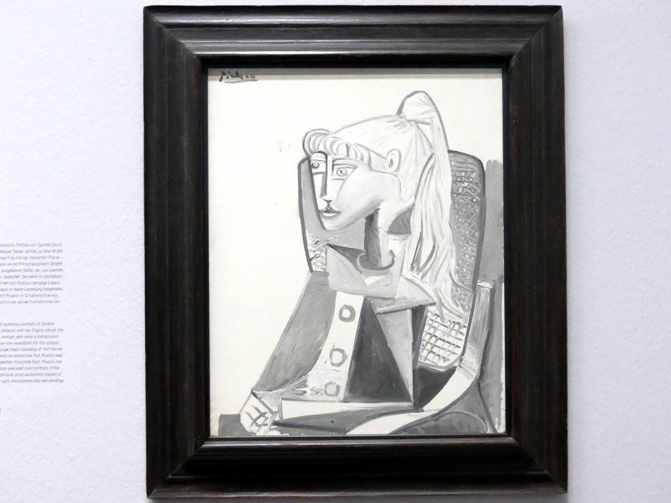 Pablo Picasso: Sylvette, 1954