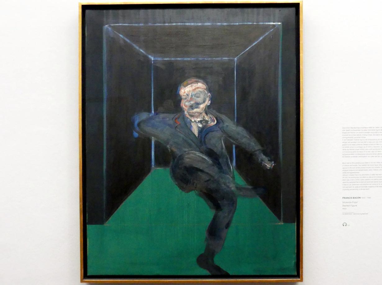 Francis Bacon: Sitzende Figur, 1960