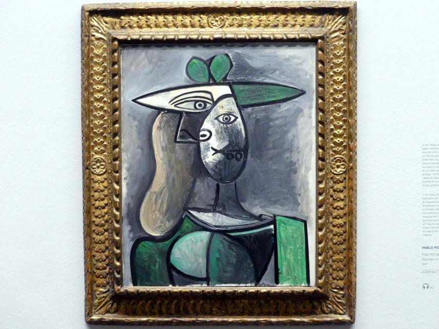 Pablo Picasso: Frau mit grünem Hut, 1947