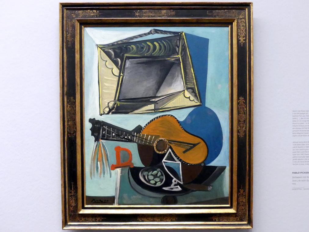 Pablo Picasso: Stillleben mit Gitarre, 1942