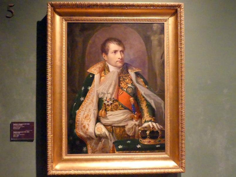Andrea Appiani: Napoleon I. Bonaparte (1769-1821) als König von Italien, um 1805