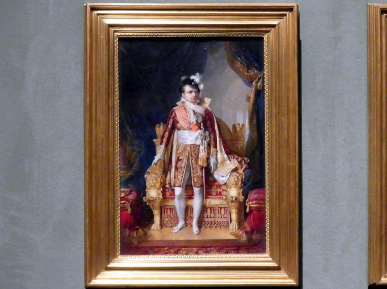 Jean-Baptiste Isabey: Napolean I. Bonaparte, Kaiser der Franzosen, 1810