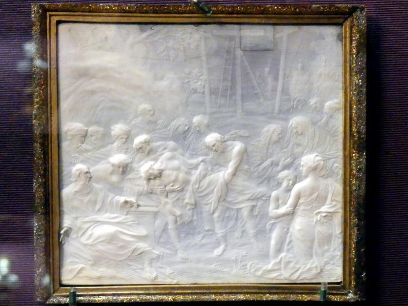 Magnus Berg: Die Grablegung Christi, 1710