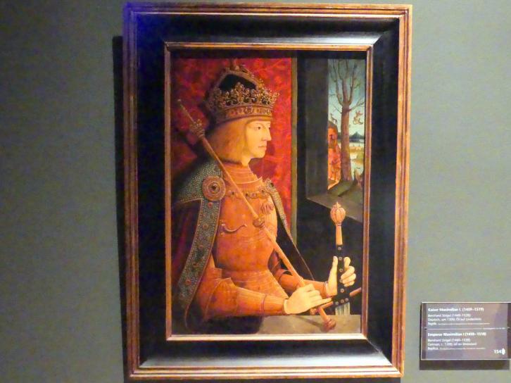 Bernhard Strigel: Kaiser Maximilian I. (1459-1519), um 1500