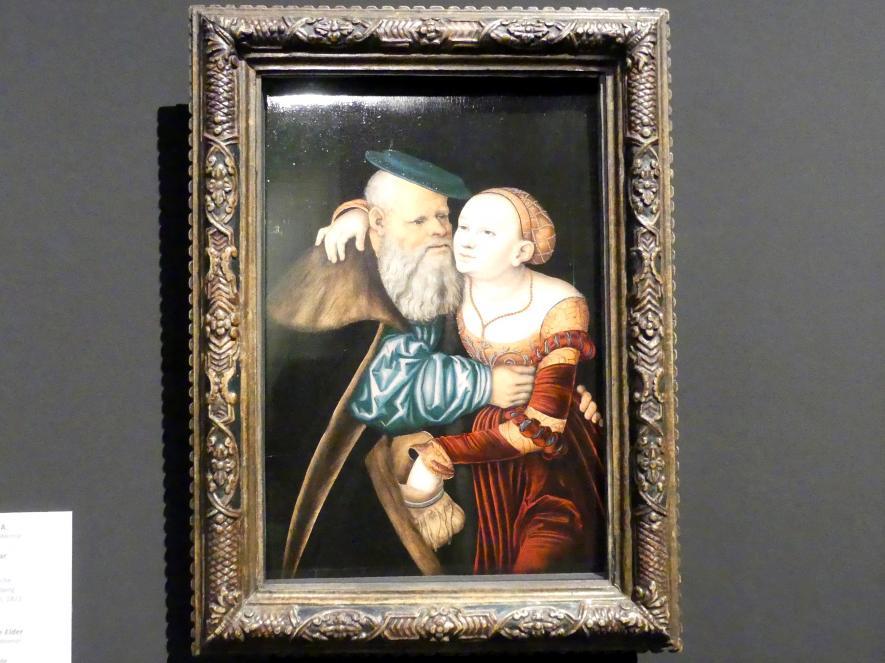 Lucas Cranach der Ältere: Das ungleiche Paar, 1531